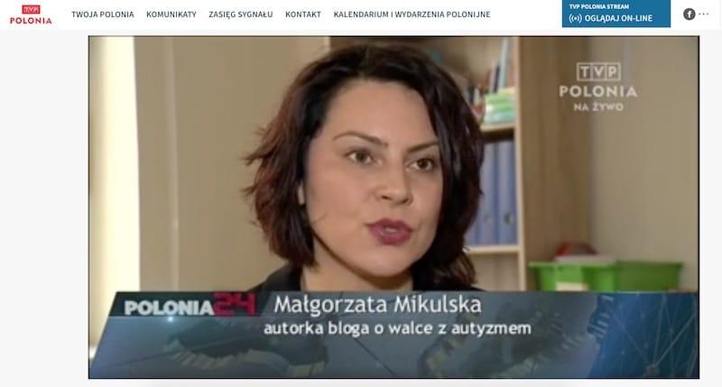 TVP Polonia – Ania i Mikołaj po terapii w Kijowie wysokimi dawkami immunoglobuliny ludzkiej